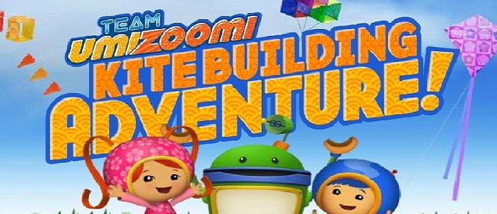 Team Umizoomi. Kite Building Adventure -
