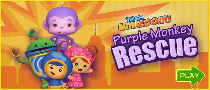 Team Umizoomi. Purple monkey rescue -