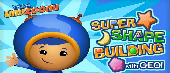 Team Umizoomi. Super Shape Building with Geo -