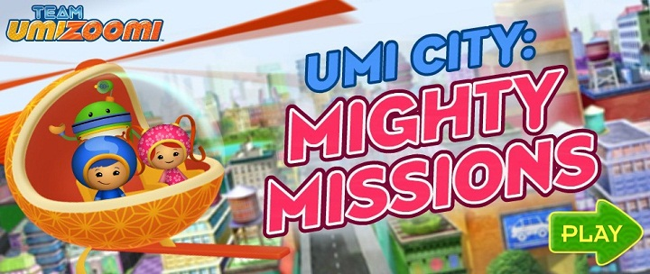 Team Umizoomi. Umi City: Mighty missions -